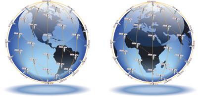Iridium Satellite Coverage area